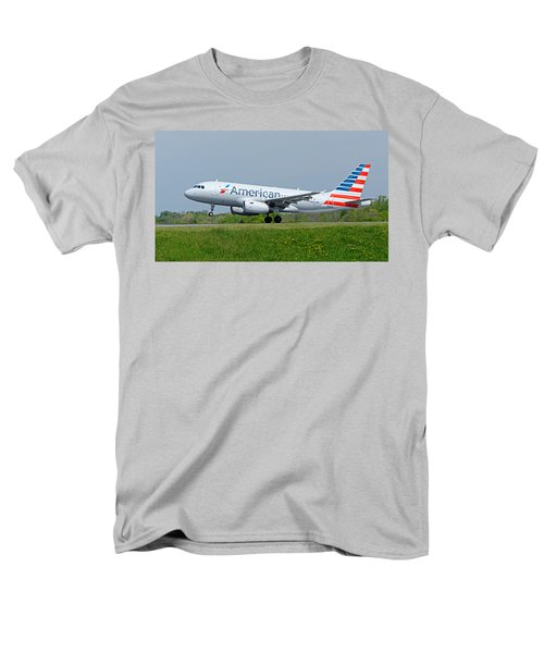 Airbus A319 Men's T-Shirt  (Regular Fit) by Guy Whiteley