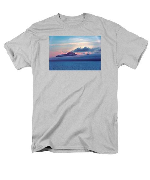 Men's T-Shirt  (Regular Fit) featuring the photograph Alaska Dawn by Lewis Mann
