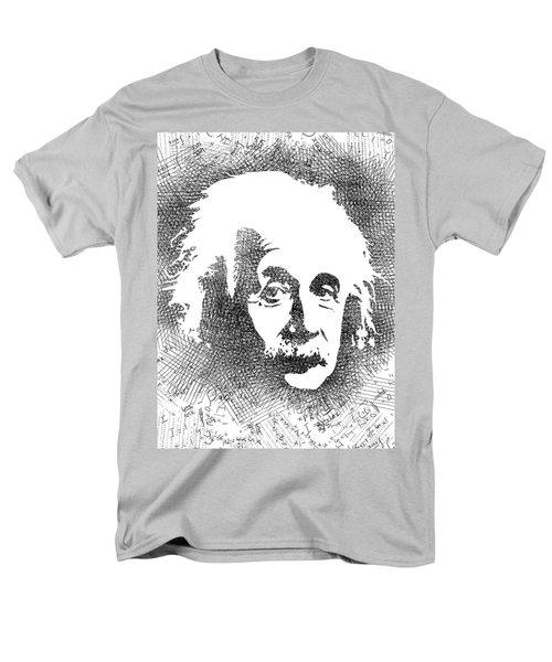 Albert Einstein Bw  Men's T-Shirt  (Regular Fit) by Mihaela Pater