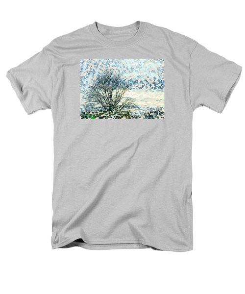 All The Leaves Have Gone Men's T-Shirt  (Regular Fit) by Ronda Broatch