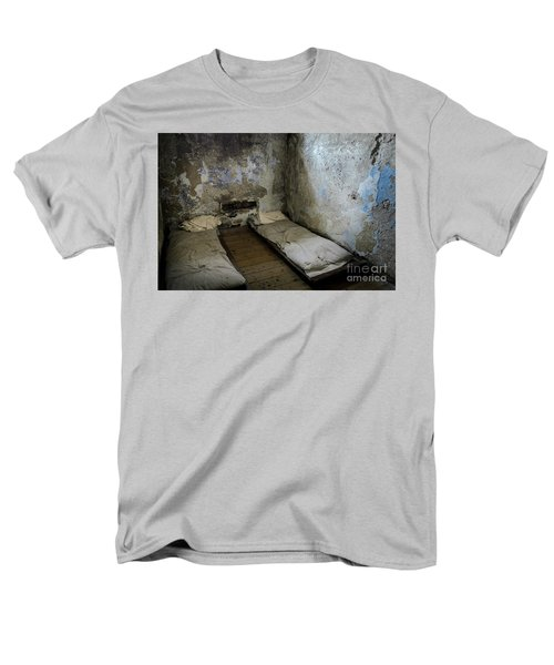 Men's T-Shirt  (Regular Fit) featuring the photograph An Empty Cell In Cork City Gaol by RicardMN Photography