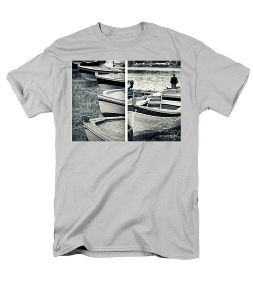 An Old Man's Boats Men's T-Shirt  (Regular Fit) by Silvia Ganora