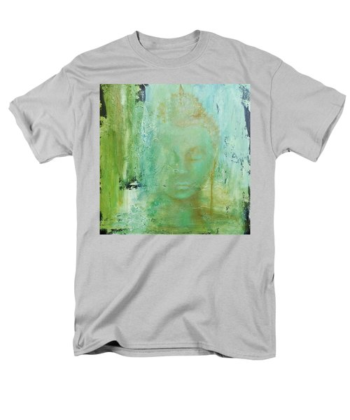 Men's T-Shirt  (Regular Fit) featuring the painting Ancient Buddha by Dina Dargo