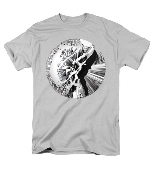 Angst IIi Painting As A Spherical Depth Map. 1 Men's T-Shirt  (Regular Fit) by Paul Davenport