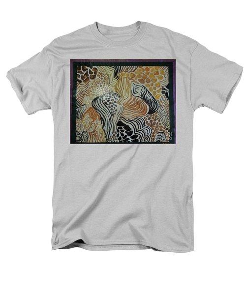 Animal Print Floor Cloth Men's T-Shirt  (Regular Fit) by Judith Espinoza