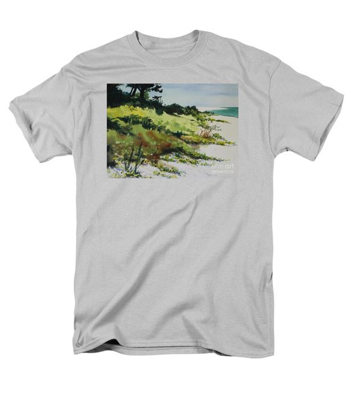 Anna Marie Island Men's T-Shirt  (Regular Fit) by Elizabeth Carr