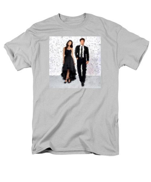 Men's T-Shirt  (Regular Fit) featuring the digital art Antonia And Giovanni by Nancy Levan