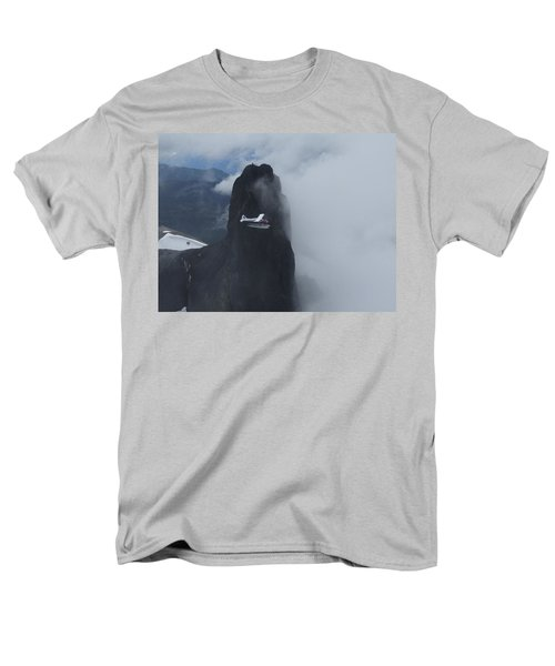 Men's T-Shirt  (Regular Fit) featuring the photograph Aop At Black Tusk by Mark Alan Perry