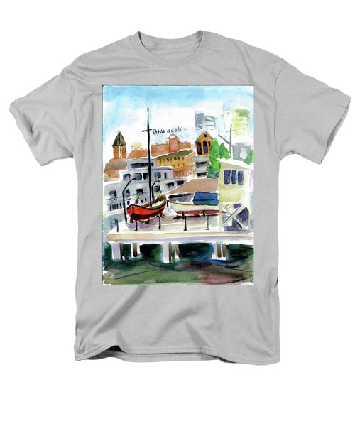 Aquatic Park1 Men's T-Shirt  (Regular Fit) by Tom Simmons