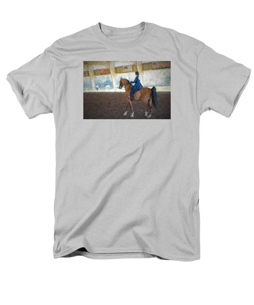 Arabian Dressage Men's T-Shirt  (Regular Fit) by Louis Ferreira