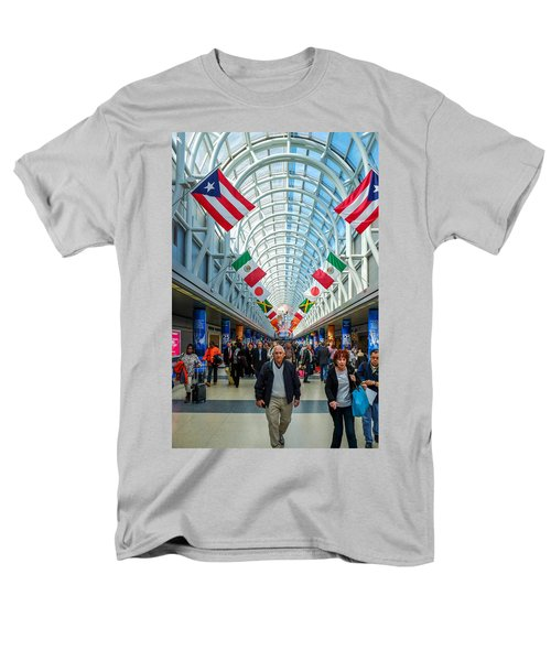 Arcade Of Flags Men's T-Shirt  (Regular Fit) by John McArthur