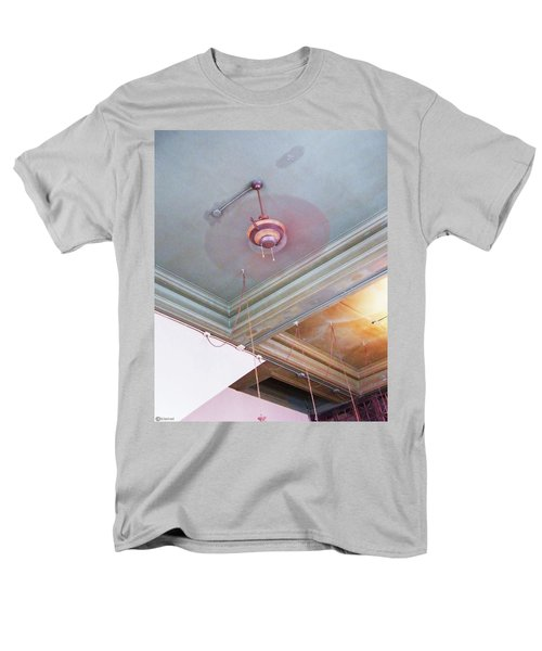 Men's T-Shirt  (Regular Fit) featuring the photograph Architecture At The Brass Door Memphis by Lizi Beard-Ward