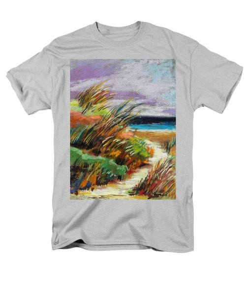 Men's T-Shirt  (Regular Fit) featuring the painting Around The Dune by John Williams