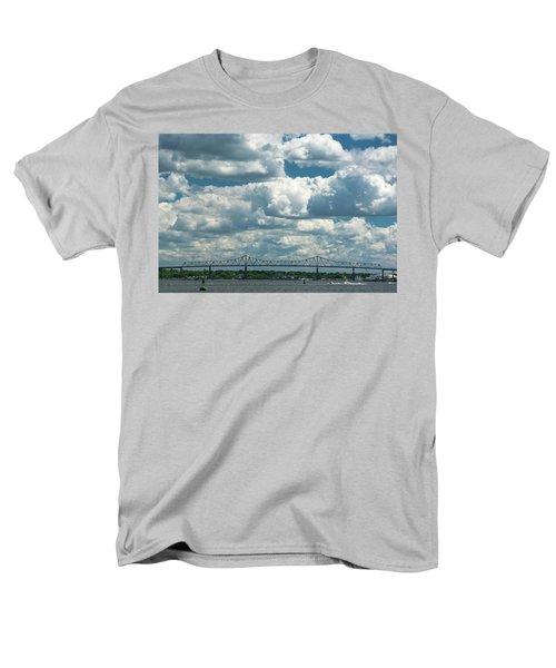 Arthur Kill And Outerbridge Crossing Men's T-Shirt  (Regular Fit)