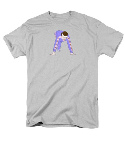Running Track Men's T-Shirt  (Regular Fit) by Priscilla Wolfe