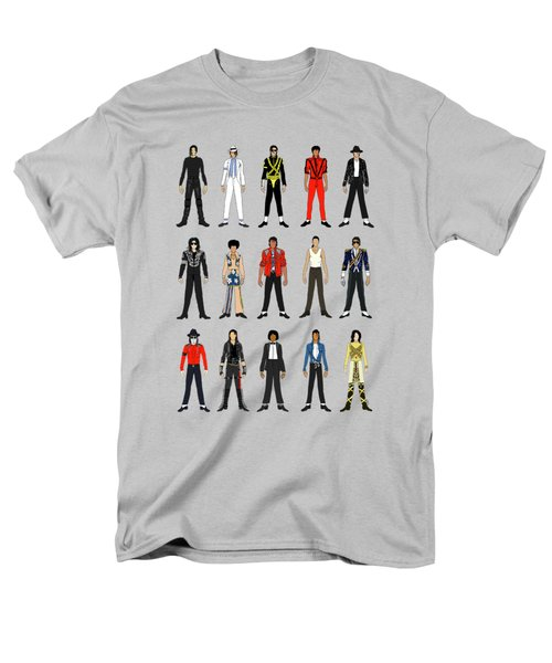 Outfits Of Michael Jackson Men's T-Shirt  (Regular Fit) by Notsniw Art