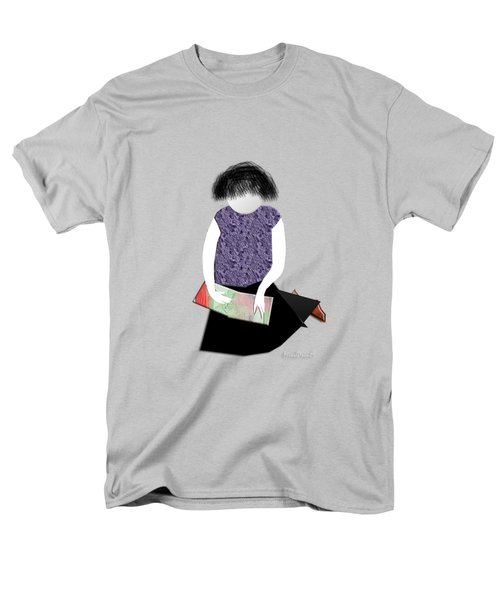 Her Picture Book Men's T-Shirt  (Regular Fit) by Asok Mukhopadhyay