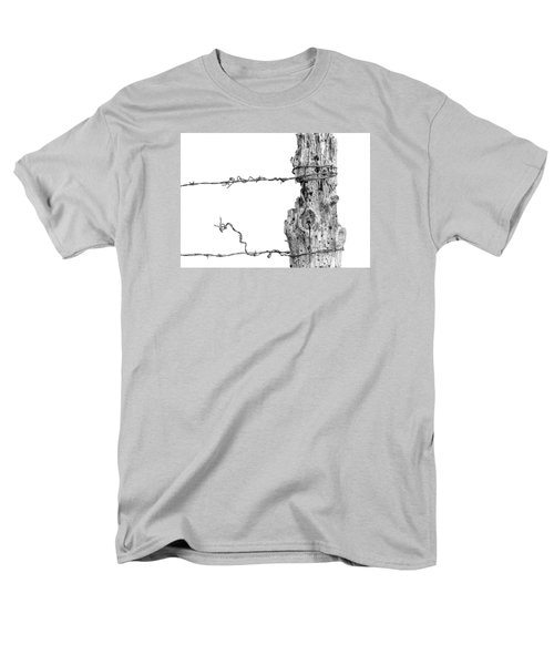 Men's T-Shirt  (Regular Fit) featuring the photograph Post With Character by Bill Kesler