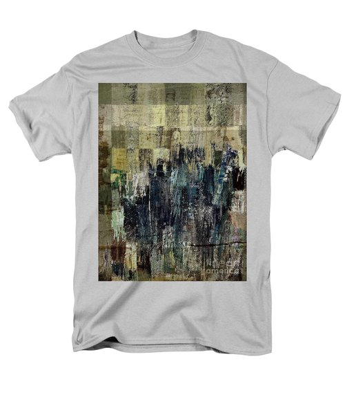 Men's T-Shirt  (Regular Fit) featuring the painting Ascension - C03xt-159at2c by Variance Collections
