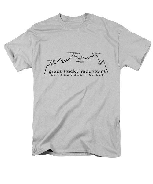 At Elevation Profile Gsm Men's T-Shirt  (Regular Fit)