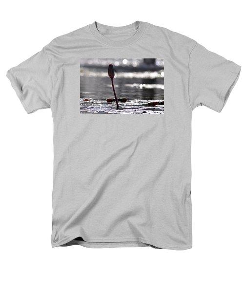 Men's T-Shirt  (Regular Fit) featuring the photograph At Rabin Square, Tel Aviv by Dubi Roman