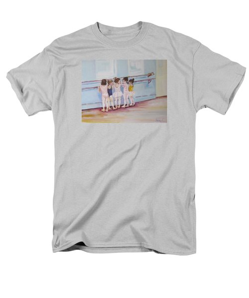 At The Barre Men's T-Shirt  (Regular Fit) by Julie Todd-Cundiff