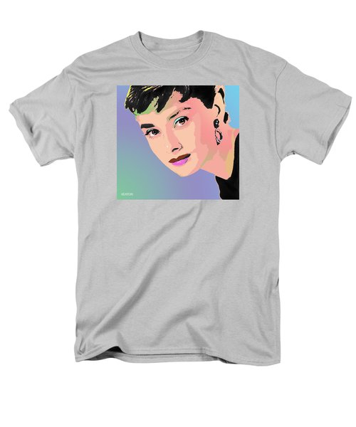Men's T-Shirt  (Regular Fit) featuring the digital art Audrey by John Keaton