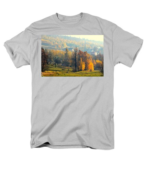 Autumn Morning Men's T-Shirt  (Regular Fit) by Henryk Gorecki