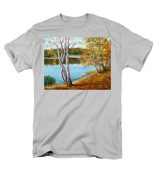 Autumn Men's T-Shirt  (Regular Fit) by Nina Mitkova