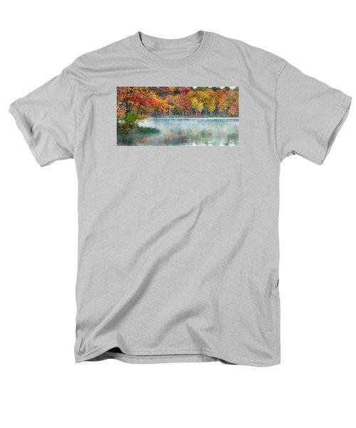 Autumn Pond Men's T-Shirt  (Regular Fit) by Brian Caldwell