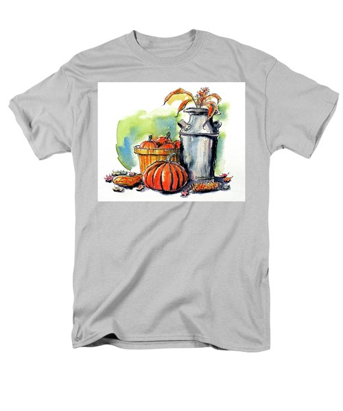 Men's T-Shirt  (Regular Fit) featuring the painting Autumn Still Life 2 by Terry Banderas