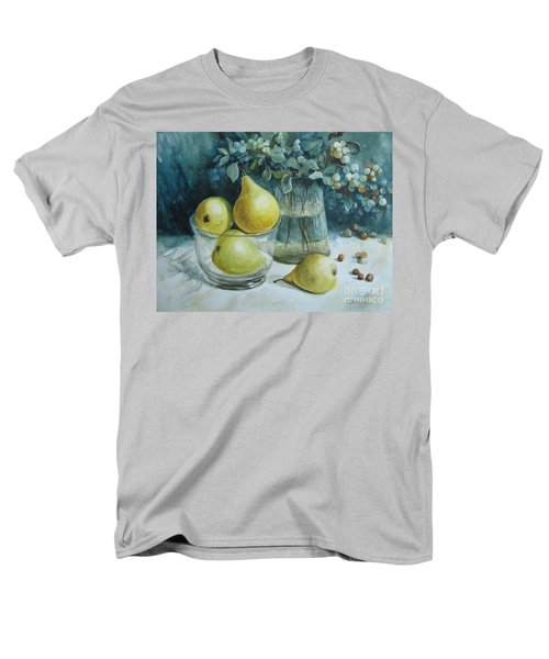 Men's T-Shirt  (Regular Fit) featuring the painting Autumn Still Life 3 by Elena Oleniuc