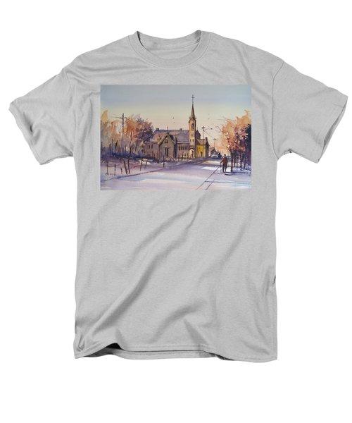 Autumn Stroll In Kaukauna Men's T-Shirt  (Regular Fit) by Ryan Radke