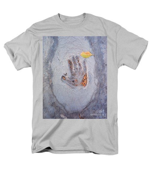 Autumns Child Or Hand In Concrete Men's T-Shirt  (Regular Fit) by Heather Kirk
