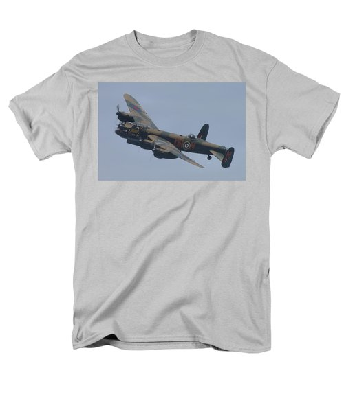Men's T-Shirt  (Regular Fit) featuring the photograph Avro Lancaster B1 Pa474  by Tim Beach
