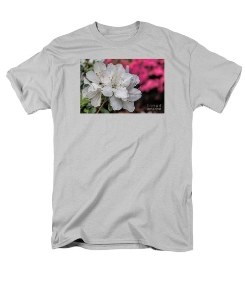 Men's T-Shirt  (Regular Fit) featuring the photograph Azaleas In Turtle Creek by Diana Mary Sharpton