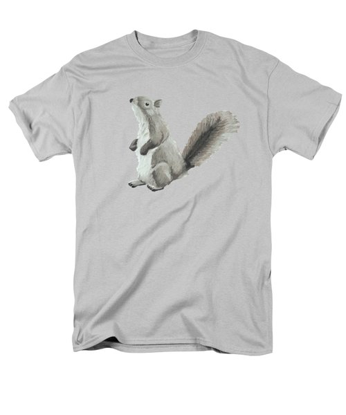 Baby Squirrel Men's T-Shirt  (Regular Fit) by Dominic White