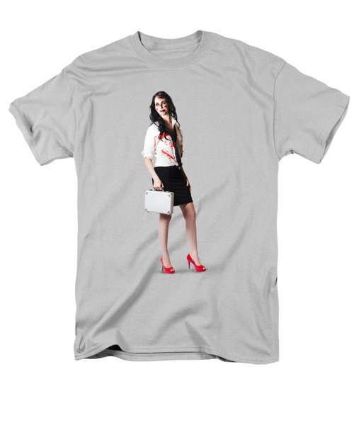 Men's T-Shirt  (Regular Fit) featuring the photograph Bad Day At The Office by Jorgo Photography - Wall Art Gallery