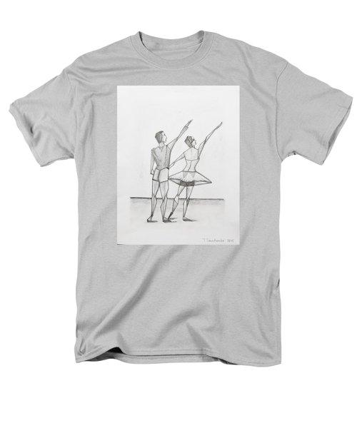 Ballet Men's T-Shirt  (Regular Fit) by Tamara Savchenko