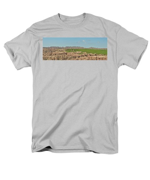 Badlands Panorama Men's T-Shirt  (Regular Fit) by Nancy Landry