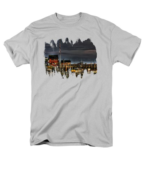Bandon Boat Basin At Dawn Men's T-Shirt  (Regular Fit)
