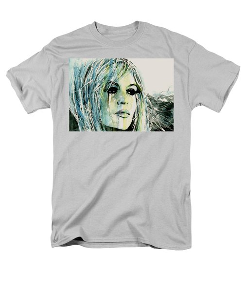 Men's T-Shirt  (Regular Fit) featuring the painting Bardot by Paul Lovering