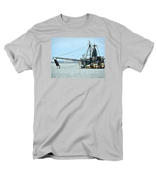 Barely Makin' Way Men's T-Shirt  (Regular Fit) by Laura Ragland