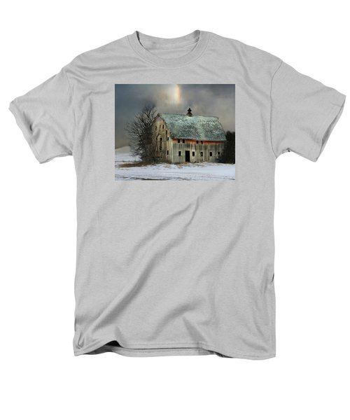 Barn And Sundog Men's T-Shirt  (Regular Fit) by Kathy M Krause