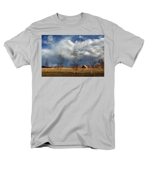 Men's T-Shirt  (Regular Fit) featuring the photograph Barn Storm by James Eddy
