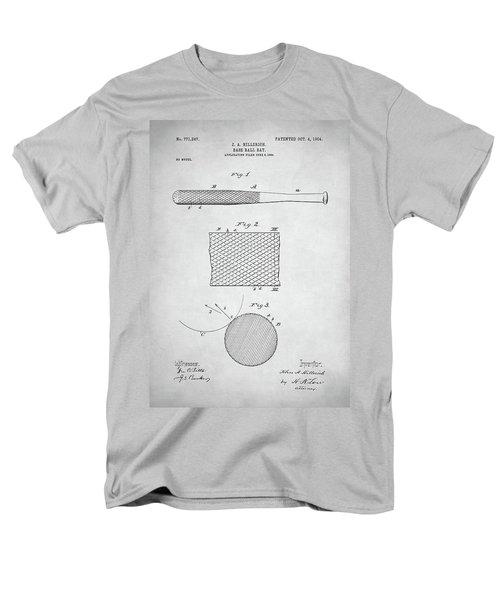 Baseball Bat Patent Men's T-Shirt  (Regular Fit) by Taylan Apukovska