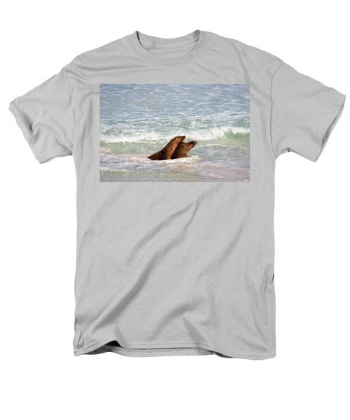 Battle For The Beach Men's T-Shirt  (Regular Fit) by Mike  Dawson