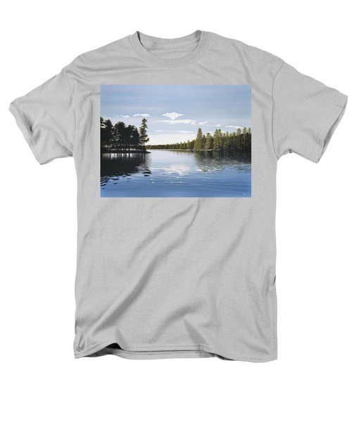 Bay On Lake Muskoka Men's T-Shirt  (Regular Fit) by Kenneth M  Kirsch