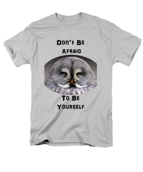 Be Yourself Men's T-Shirt  (Regular Fit) by Judi Saunders
