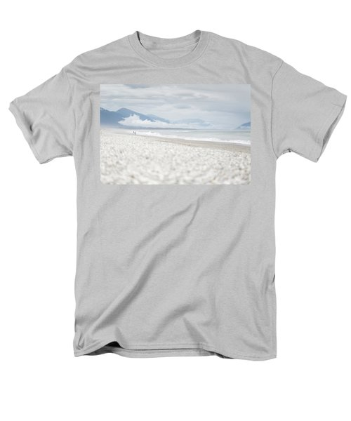 Beach For Two Men's T-Shirt  (Regular Fit) by Alex Conu